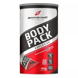 Body Pack Explosive 22 Packs Bodyaction - O Mais Barato!