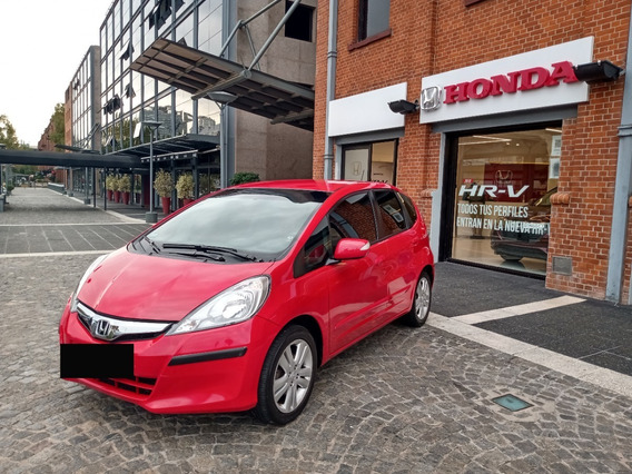 Honda Fit Exl At, 2015, Rojo, 23000kms