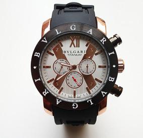 Relógio Bv Tourbillion Automático Cronos 100% Funcionais