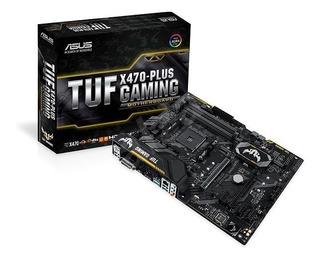 Placa Madre Amd Ryzen Asus Tuf X470- Plus Gaming Ddr4