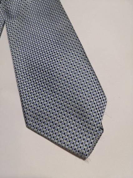 Corbata Charvet, Azul Agua