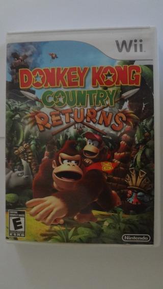 Donkey Kong Country Returns Nintendo Wii Usado