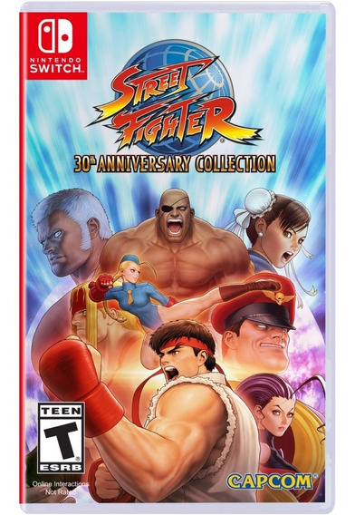Street Fighter 30th Anniversary Collection - Switch Lacrado