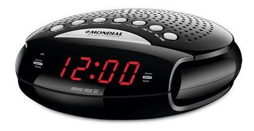 Rádio Relógio Mondial Sleep Star Iii Bivolt Rr-03