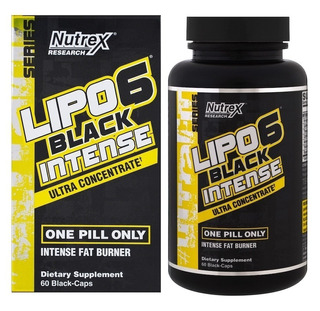 Lipo 6 Black Intense Uc 60caps Nutrex - Original Usa