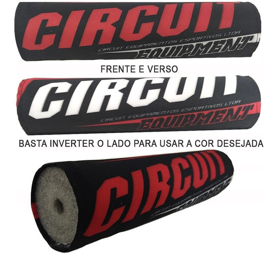 Protetor Guidão Moto Impacto Rosto Piloto Circuit Mx 3 Vrm