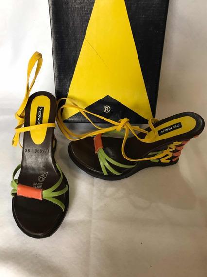 Bonitos Zapatos Terra Multicolor