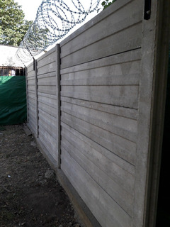 Cerco, Muro Pre-moldeado De Hormigón