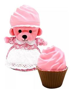 Oso Osito Muñeca Bear Cupcake Perfume Aroma Grande Smile