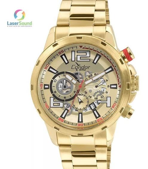 Relógio Condor Masculino Covd33az/4d, C/ Garantia E Nf