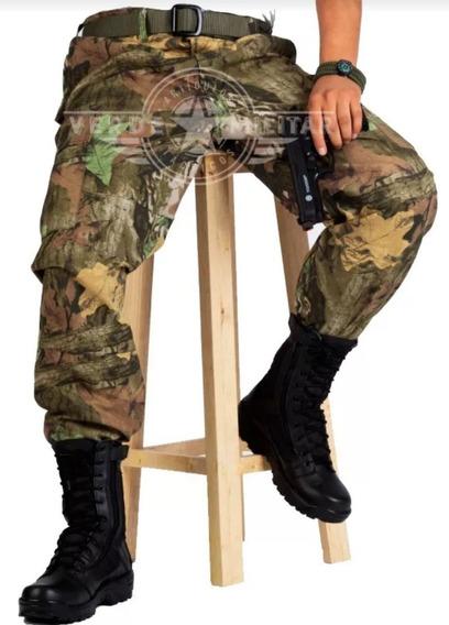 Pantalon Tactico Militar De Bolsas Camuflaje Para Gotcha Combate Reforzado
