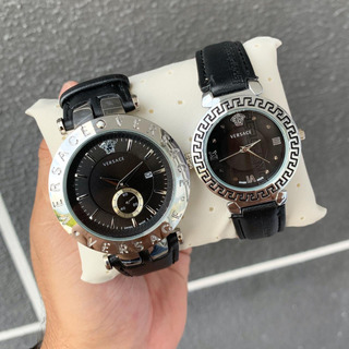 Reloj Versace En Cuero
