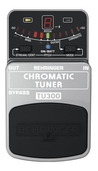 Pedal Behringer Tu300 Afinador Cromático Digital