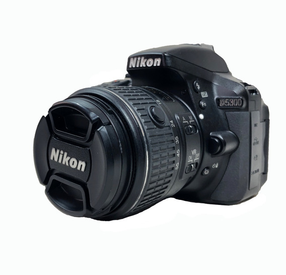 Camera Nikon D5300 Kit 18-55mm Usada Com Garantia