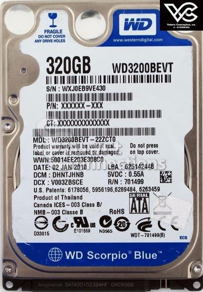 Disco Duro Sata 320gb 2,5 Refurbished Dvr Laptop Pc Consolas