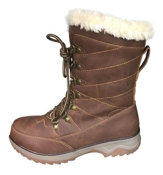 Botas Para La Nieve Mujer Invierno Con Chiporro Frio // Agta