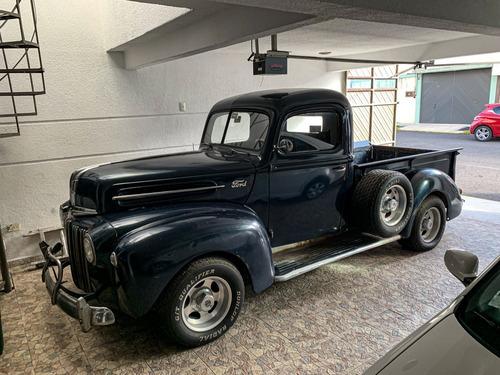 Imagen 1 de 15 de Pick Up Ford 1946 De Colección