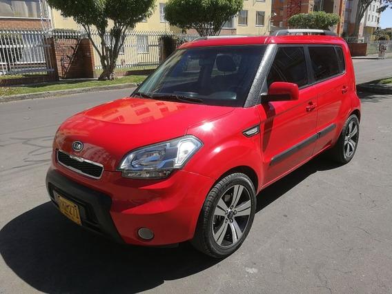 Kia Soul Lx Fe Mt1600cc Rojo Aa Ab Dh Abs