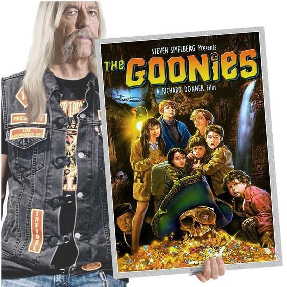 Quadro Poster Classicos Do Cinema The Goonies A2 01