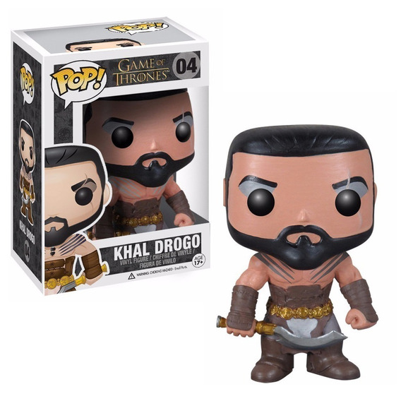 Funko Pop Games Of Thrones - Khal Drogo 04