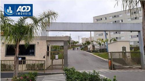 Apartamento Com 2 Dormitórios, 51 M² - Venda Por R$ 265.000,00 Ou Aluguel Por R$ 1.300,00/mês - Água Chata - Guarulhos/sp - Ap0170