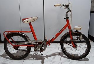 Antiga Bicicleta Italiana Aro 14 Graziella Monareta Berlinet