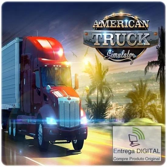 American Truck Simulator Steam Mídia Digital Envio Imediato