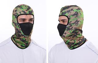Balaclava Máscara Táctica De Colores Con Filtro Antipolución