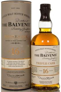 Whisky The Balvenie Triple Cask 16 Años 40% Abv Orig Escocia
