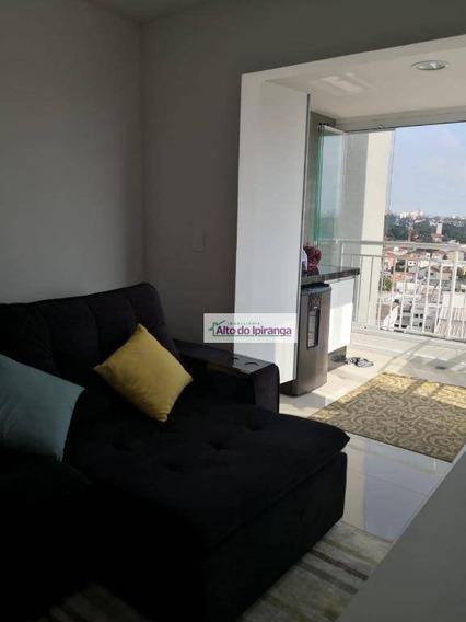 Apartamento Com 1 Dormitório À Venda, 37 M² - Chácara Santo Antônio - São Paulo/sp - Ap4359