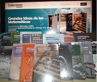 Colección Clarín Grandes Ideas De Las Matemáticas