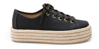 Zapatilla Sneaker Black Chimmy Churry Plataforma
