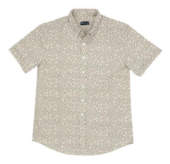 Camisa Cuello Button Down De Hombre C&a 1055286
