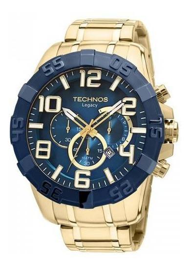 Relógio Technos Masculino Legacy Cronógrafo Os20iq/4a