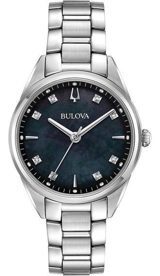 Relógio Bulova Feminino Sutton 96p198 *diamond