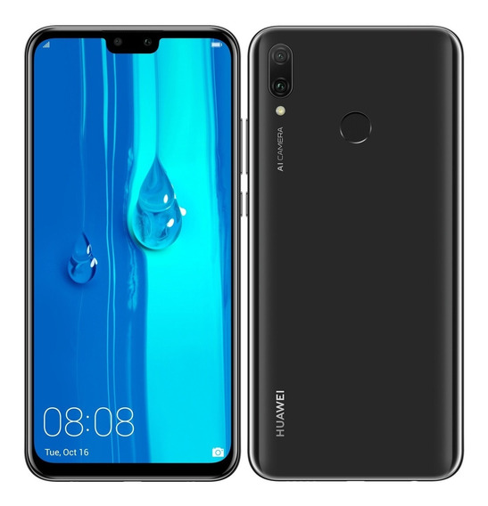 Celular Huawei Y9 2019 64gb 3gb Ram Solo At&t Nuevo Sellado