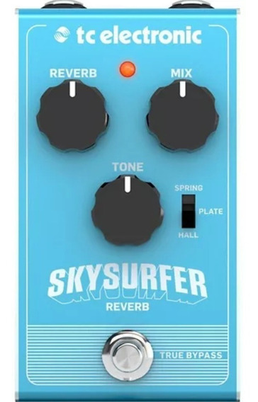 Pedal Skysurfer Reverb - Tc Electronic +nf+ Garantia -30%off