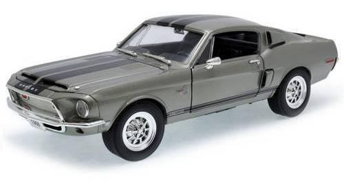 1968 Shelby Cobra Gt500kr Cinza - Escala 1:18 - Yat Ming