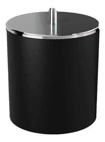 Lixeira Com Tampa Em Aço Inox 5,4 Litros De Capacidade  Coza