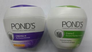 Combo Ponds Crema H Humectante + C Limpieza X 100 G. Palermo