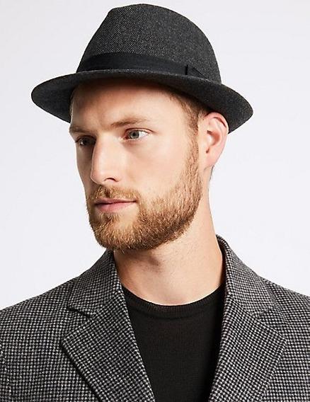 Sombreros Trilby De Ala Corta Para Hombre Y Mujer