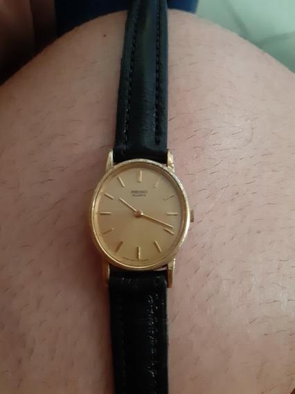 Relógio Seiko Pequenino Dourado Original