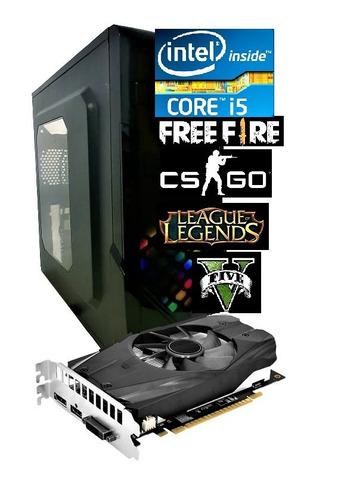 Pc Cpu Gamer Core I5 3.6ghz Turbo 8gb Ssd 240gb Gt 1030 2gb