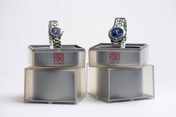 Relojes Esq Para Dama Y Caballero (nuevos)