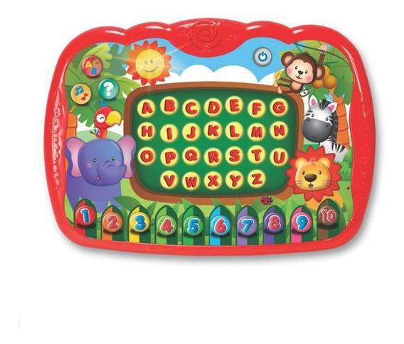 Brinquedo Interativo Meu Primeiro Tablet C/ Som Luz - Winfun