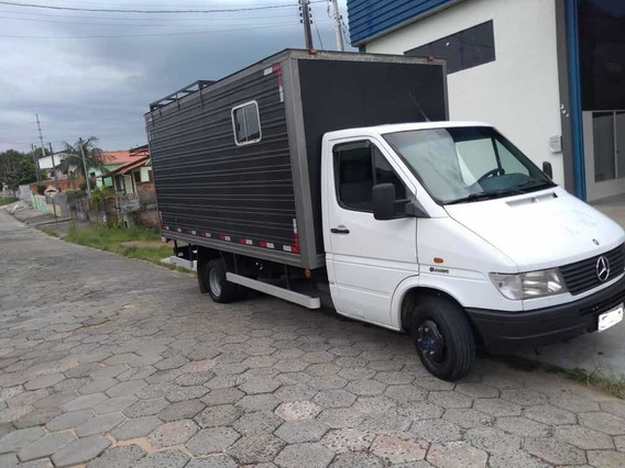 Mercedes-benz Sprinter 412d Com Baú