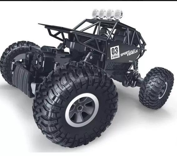 Carrinho Controle Remoto 4x4 Monster Truck Rock Crawler Rc
