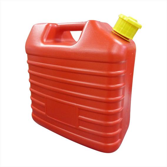 Bidon Plastico 10 Lt Rojo Jc-10l - 22056 Tienda Fisica Maf