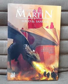 Livro Fogo & Sangue George R R Martin ( Novo / Lacrado )