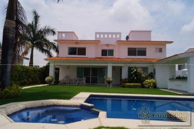 Preciosa Casa En Lomas De Cocoyoc Olc-0480